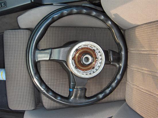 Steering wheel comparison