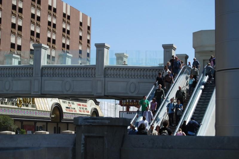 street escalators