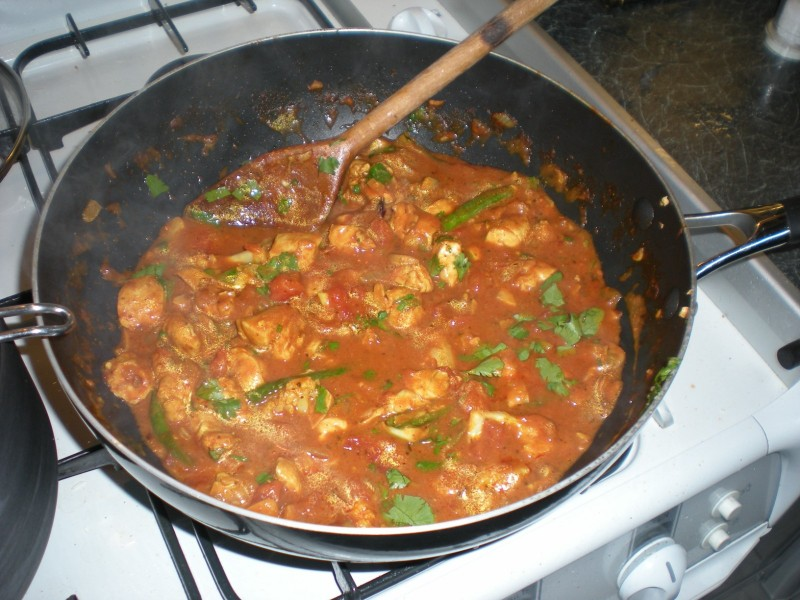 curry finished
