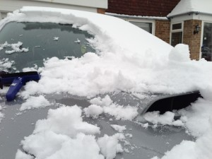 Impreza snow scoop